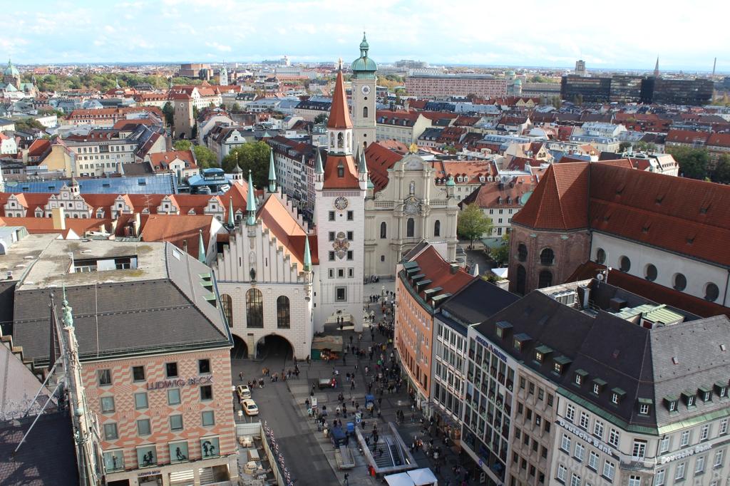 Ruas de Munique