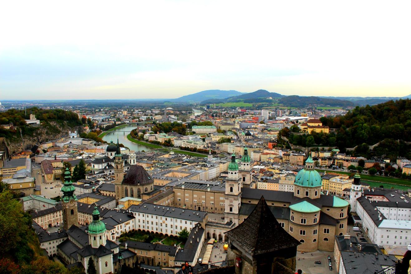 Um dia em Salzburg