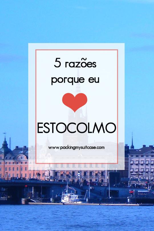 5 razões porque eu amo Estocolmo