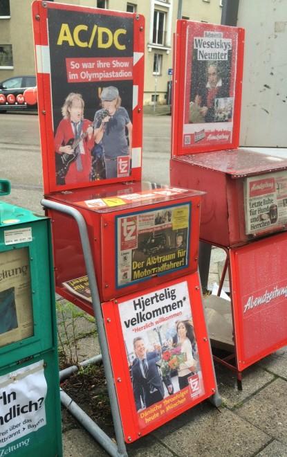 Na Alemanha é assim...  por Packing my Suitcase.