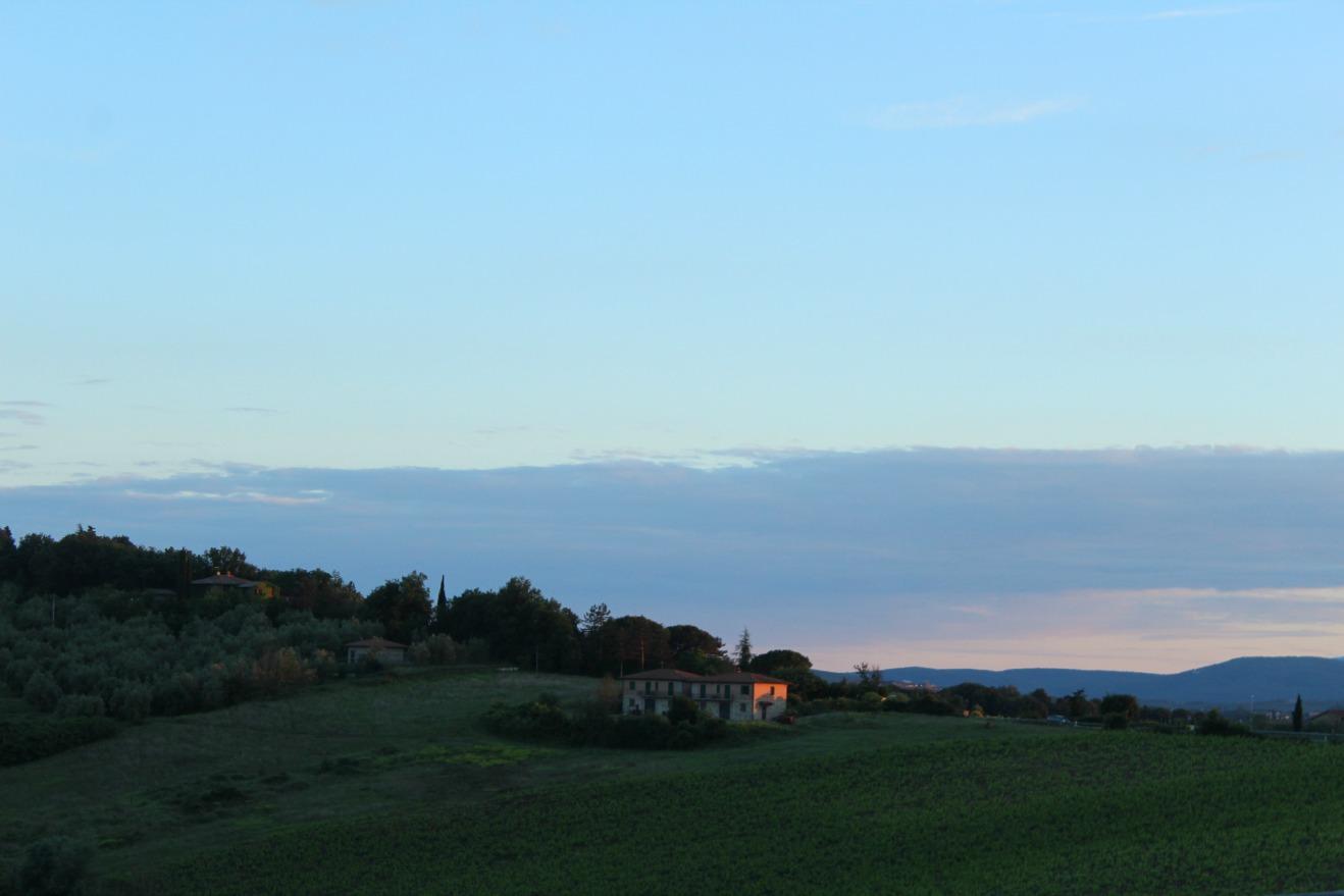 Um final de semana na Toscana