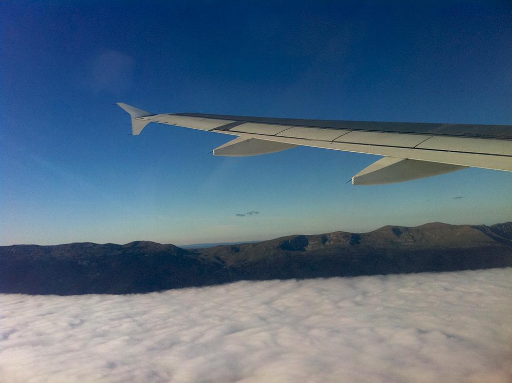 Menos stress antes de voar