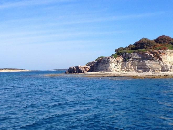 Ilha próxima à Brjuni