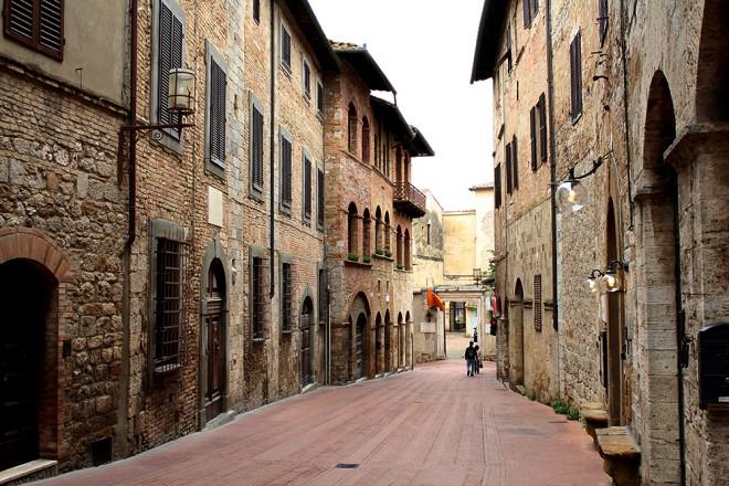 San Gimignano, Itália.
