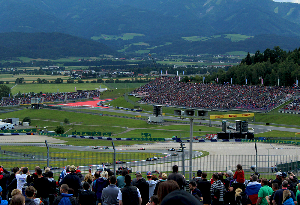 Grande Prêmio de Fórmula 1 na Áustria 2015