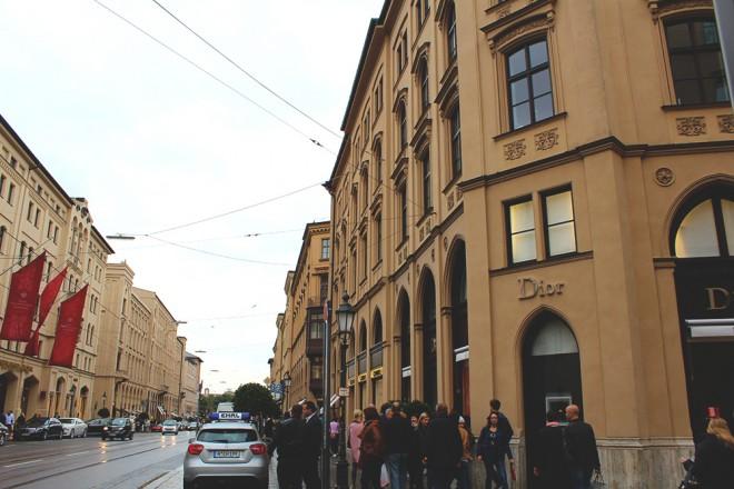 Loja da Dior na Maximilianstr. em Munique