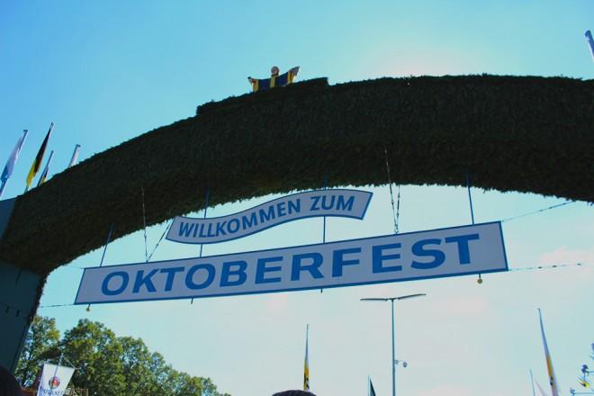 Entrada da Oktoberfest
