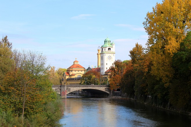 Outono em Munique