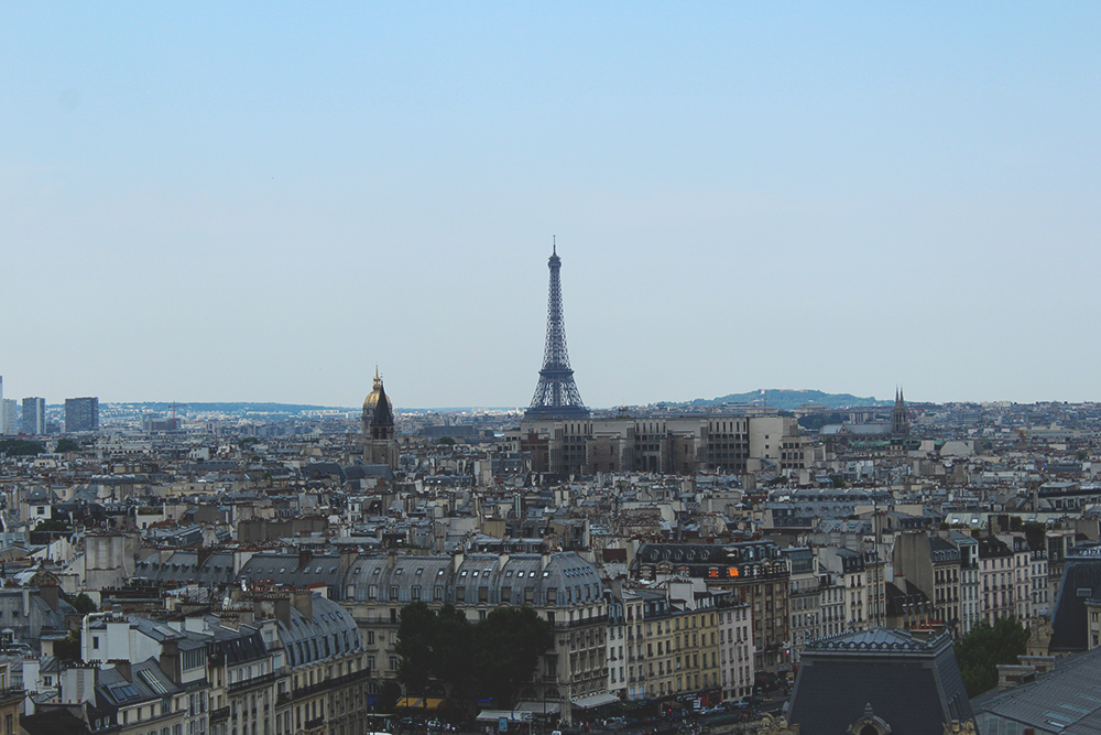 8 lugares maravilhosos para ver Paris de cima