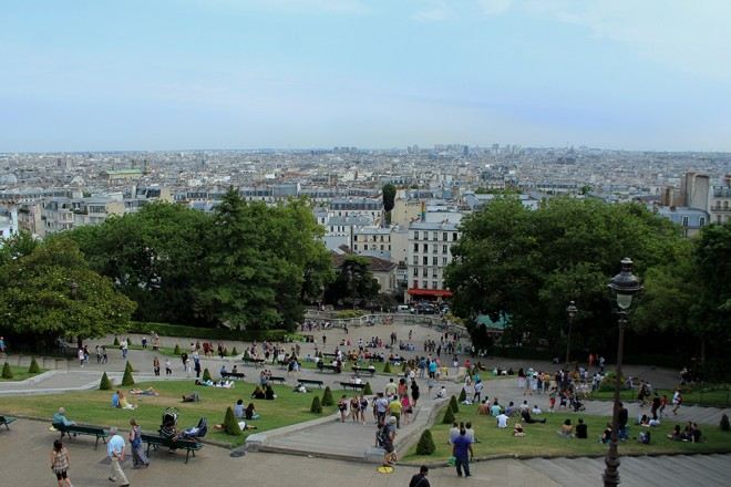 Vista de Montmartre, Paris