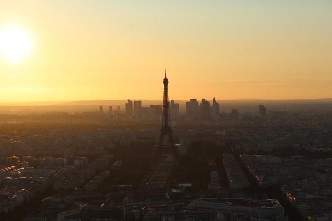 Vista da Tour Montparnasse, Paris
