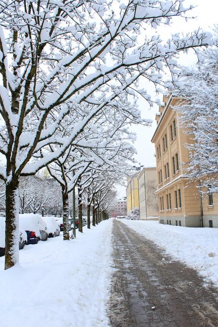 Inverno em Munique
