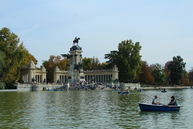 Parque Buen Retiro, Madrid