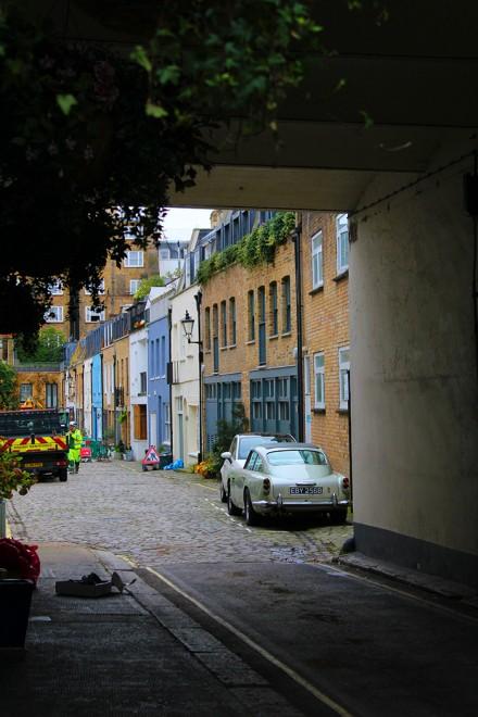 Rua estreita, Londres