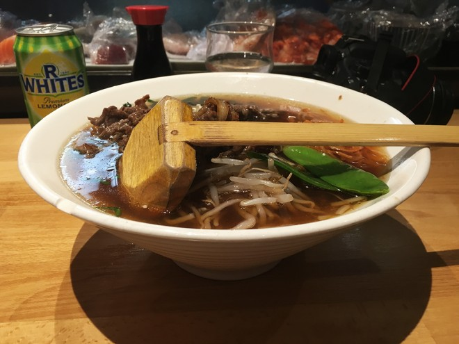 Sopa japonesa Londres