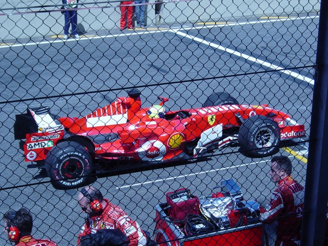 Felipe Massa no GP de 2006
