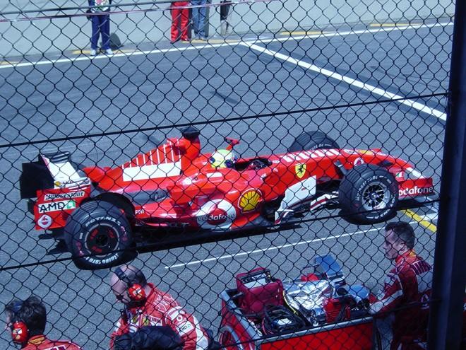 Felipe Massa no GP de 2006