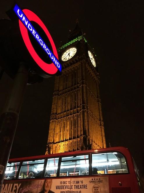 Big Ben à noite, Londres