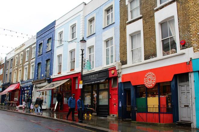 Um tour em Notting Hill