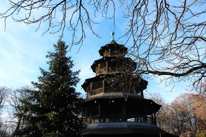 Chinesischer Turm, Englischer Garten, Munique