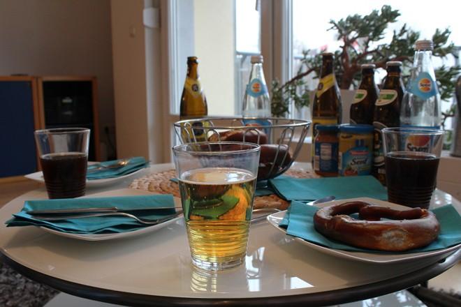 Café da manhã Bávaro
