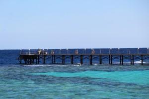 Pier no mar
