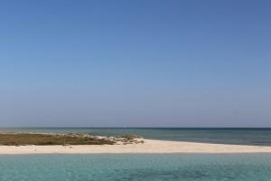 Uma ilha deserta no Egito