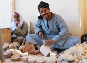 Artesãos em Luxor