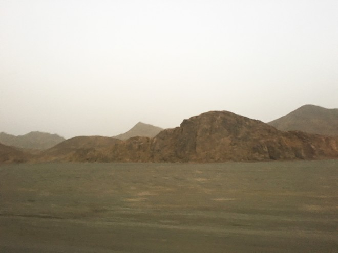 Deserto no Egito