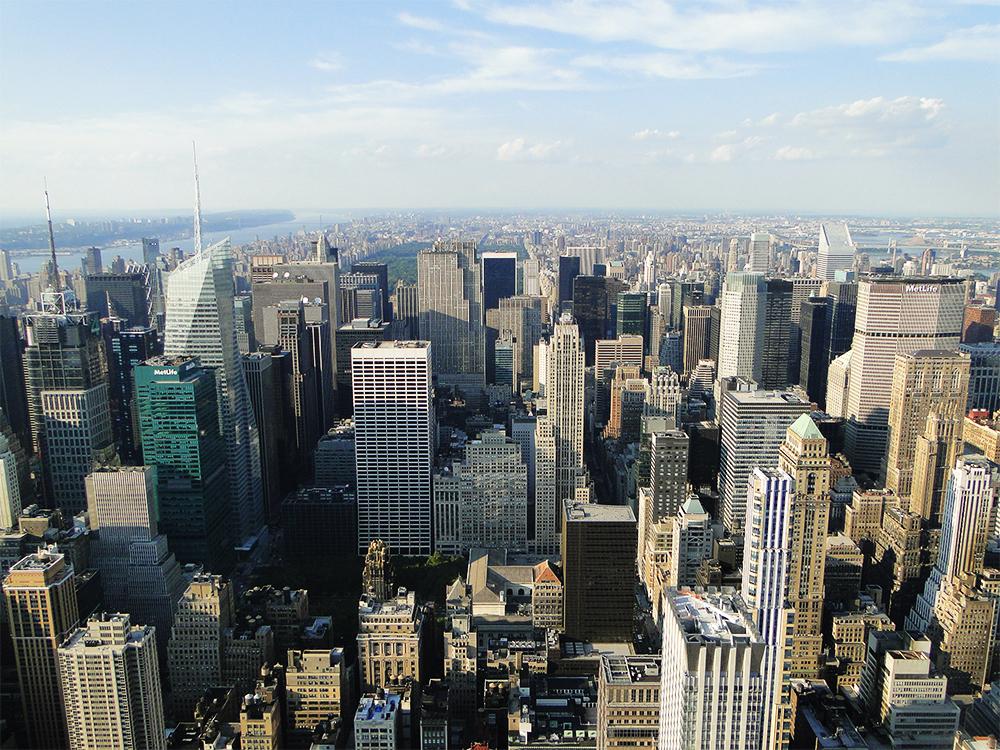 Nova Iorque de cima