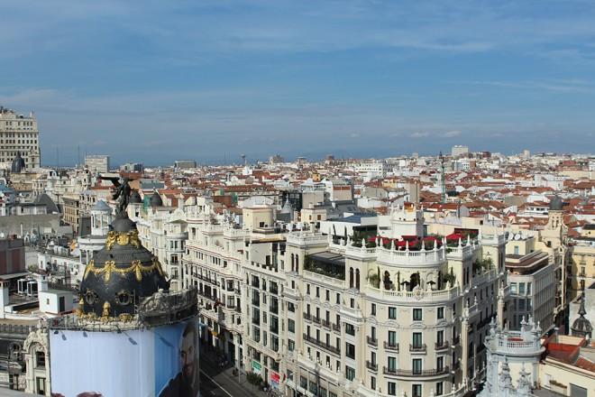 Madrid vista de cima