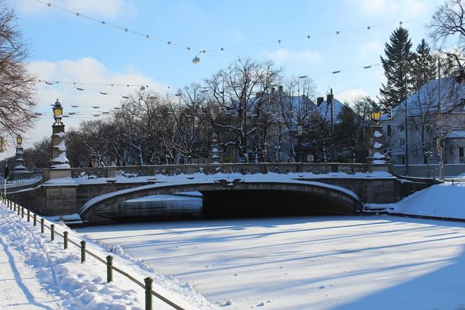 Munique com neve