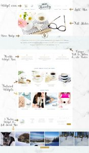 Genesis Child Theme WordPress Feminine Ecommerce Hello You Designs