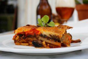 Moussaka comida grega