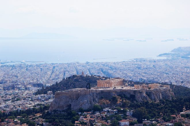 Vista do Monte Lycabettus, Atenas