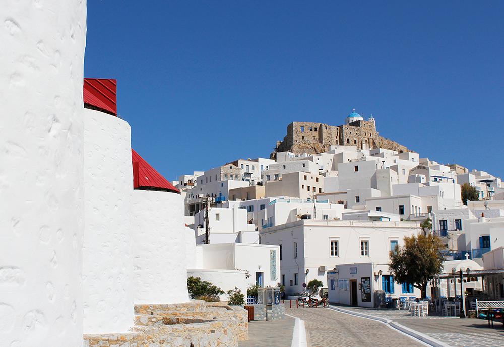 Grécia fora da rota turística: Astypalea