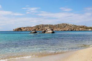 Paraga Beach, Mykonos, Grécia