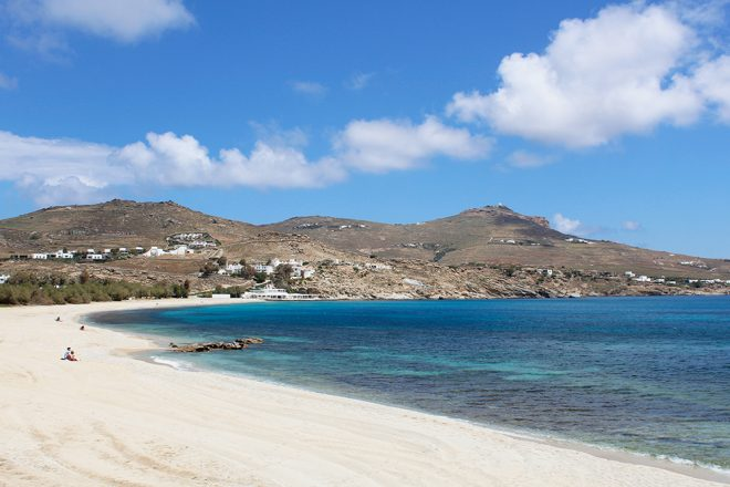 Kalafati Beach, Mykonos, Grécia
