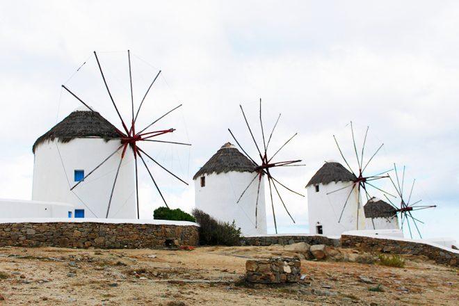 Moinhos, Mykonos, Grécia