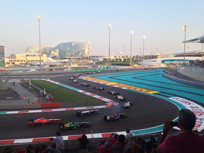 GP de Fórmula 1 em Abu Dhabi
