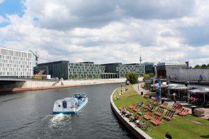 Passeio de barco por Berlim