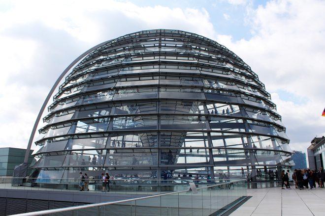Reichstag, Cúpula do Parlamento alemão