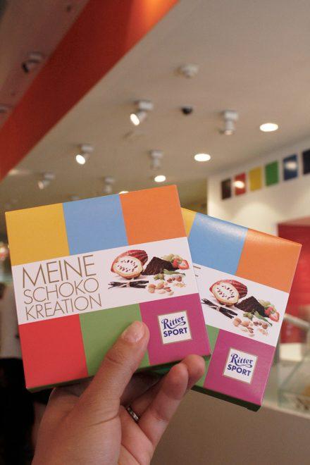 Chocolate personalizado em Berlim