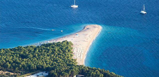 Praia Zlatni Rat, Croácia