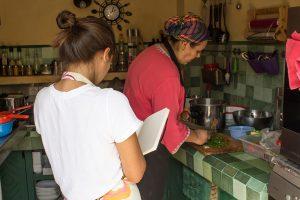 Aula de Culinária Riad Anata, Fez, Marrocos