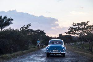 Estrada em Cuba