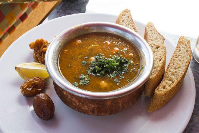 Comida no Marrocos