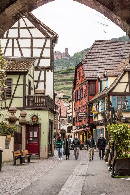 Rota do Vinho, Alsácia, França