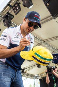 Autógrafo Felipe Massa