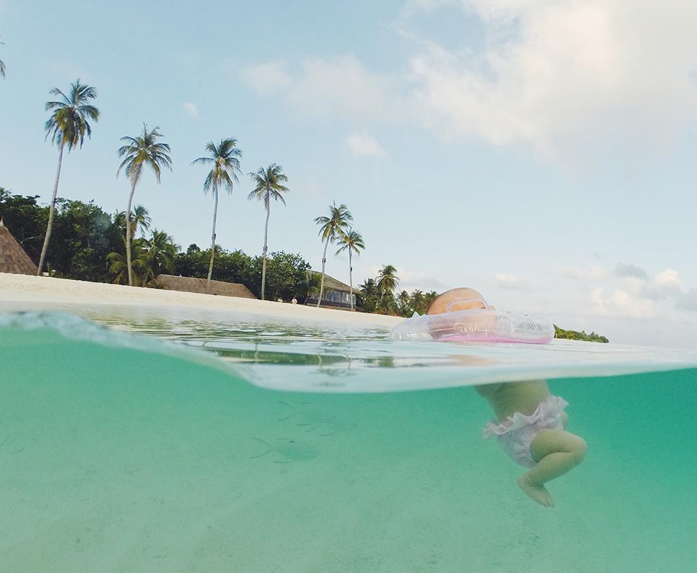 Ilhas Maldivas com um bebê: o que você precisa saber